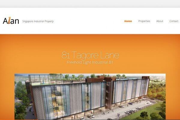 CLLOH portfolio - Property agent website 2 screenshot