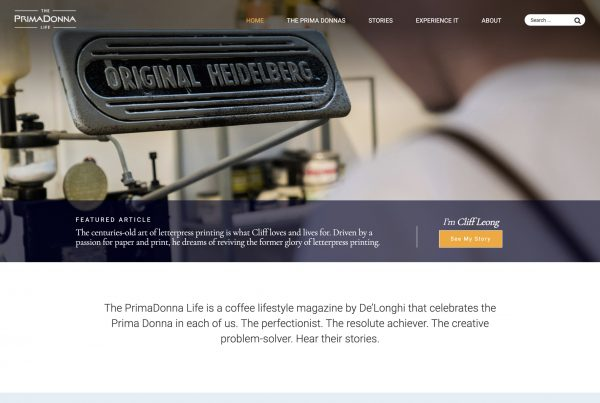 PrimaDonna home page
